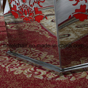 Stainless Steel with Temper Glass Dining Table and Chairs Set pictures & photos