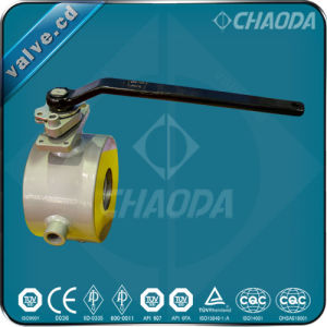 Jacketed Wafer Ends Ball Valve pictures & photos