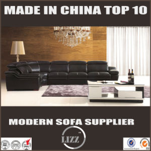 Luxury High Quality Sectional Leather Couch pictures & photos