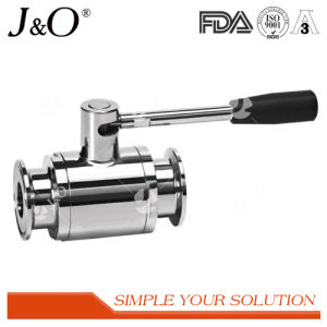 Sanitary Stainless Steel Clamp Ball Valve pictures & photos