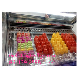 Low Temperature Display Cabinet Popsicle Ice Cream Display Cart pictures & photos