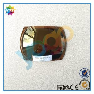 Gold Mirror with Brown Tint Polycarbonate Sunglasses Lens