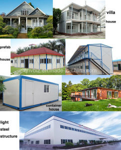 Prefab House/Movable House/ Container House with Light Steel Structure pictures & photos
