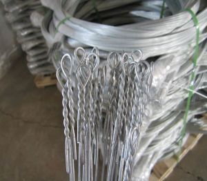 Single Loop Bale Ties Wire pictures & photos