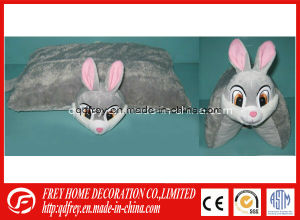 Plush Rabbit Toy Pillow for Promotional Baby Gift