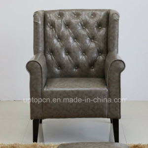 Commercial Hospitality Wood Leather Restaurant Chair with Arm (SP-HC549) pictures & photos