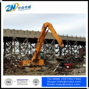 Mine Field Working Using Lifting Magnet on Excavator High Frequency Type pictures & photos