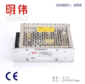 S-35-15 35W 15V Switch Power Supply AC DC Adjustable Power Supply pictures & photos