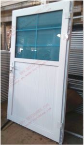 Customized UPVC Single Casement Door/Bahtroom Door/Plastic Door (BHP-CD19) pictures & photos