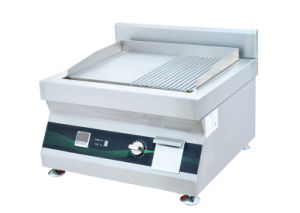 Commercial High Quality Electric Flat Griddle Tabletop Grill Griddle pictures & photos