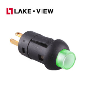 PLE Series Illuminated Pushbutton Swtch with Panel Mount and Wire Terminal pictures & photos