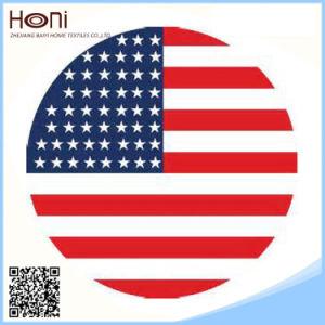 Wholesale Woven Printed Flag Beach Towel