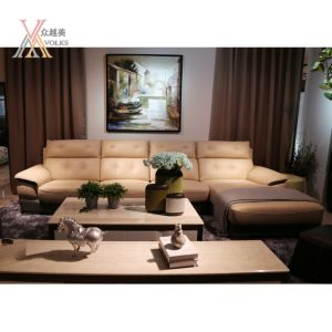 Fashion Comfortable Durable Leather Sofa (1652A#) pictures & photos