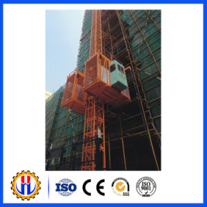 Construction Hoist Used for Lifting Material and Passenger (SC200/200 SC100/100) pictures & photos