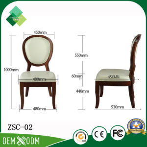 European Style Round Back Chair for Bedroom in Birch (ZSC-02) pictures & photos