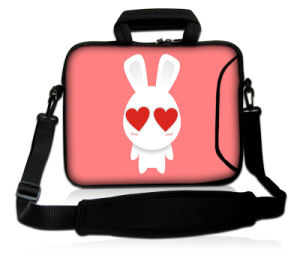 "Cartoon Pattern 17"" 17.3"" Neoprene Laptop Carrying Bag Sleeve Case Cover + Shoulder Strap pictures & photos"