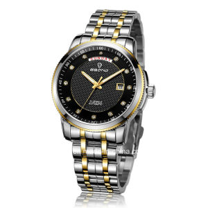 Jewellery Automatic Stainless Steel with Week and Date Display Men Watch pictures & photos
