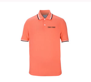 Fashion Wholesale Men Cotton Polyester Polo Shirt with Custom Logo pictures & photos