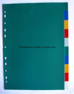 10 Pages Colored PP Index Divider Without Number Printed (BJ-9022) , China Manufacturer of Index Divider, China Factory of Index Divider.