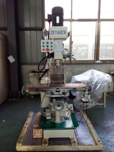Fresadoras Drilling Milling Machine (ZX7550CW, ZX7550C) pictures & photos