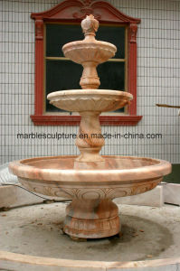 Rosetta Marble Fountain Stone Fountain Statue Fountain Mf-025 pictures & photos