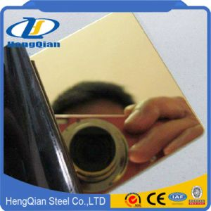 201 304 430 Mirror Decorative Color Stainless Steel Sheet for Building Material pictures & photos