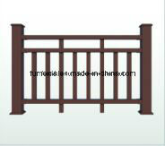 WPC Fencing Wood Plastic Composite Railing for Outdoor - K-Rl-06 pictures & photos