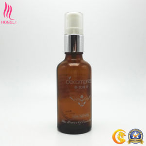 100ml Amber Essential Water Bottle with Sprayer pictures & photos