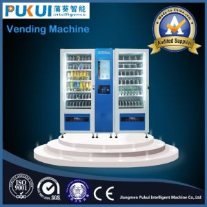 High Quality China Manufacturer Food Health Products Snack Beverage Can Combo Vending Machine pictures & photos