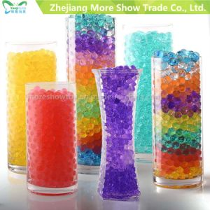 Crystal Soil Hydrogel Gel Polymer Water Beads Wedding Table Centerpieces pictures & photos