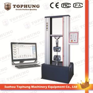 Servo Type Metal Material Three-Point Bending Fold Testing Machine pictures & photos