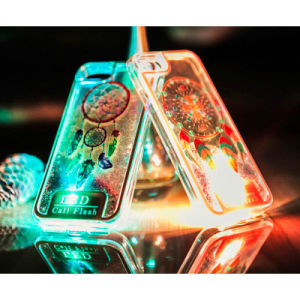 Electroplating LED Call Flash Mobile Phone Case for Mobile Phone pictures & photos