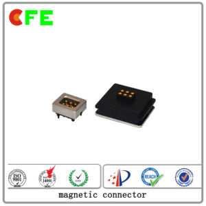 Square 6pin Magnetic Connector for Goggle pictures & photos