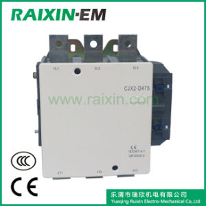 Raixin New Type Cjx2-D475 AC Contactor 3p AC-3 380V 265kw