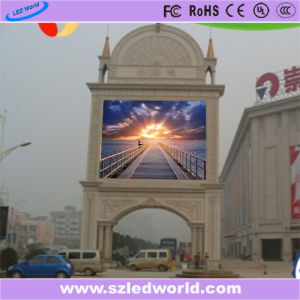P10 High Brightness SMD3535 Outdoor Full Color LED Display Panel Board Module for Advertising pictures & photos