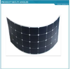 120W Flexible Solar Panel with Sunpower Solar Cell