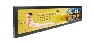 "42"" Stretched Bar Digital Display, 1920 X 540p, for Restaurant and Metro Station pictures & photos"