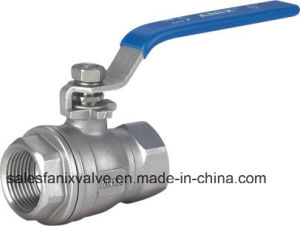 (technology type) 2PC Type Ball Valve with Internal Thread pictures & photos