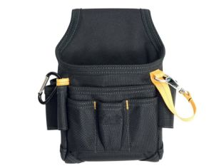 Durable Convenient Tape Strap Small Maintenance Electrician Waist Tool Bag pictures & photos