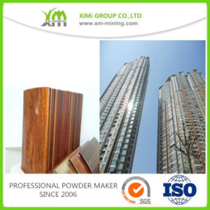 Architectural Aluminum Extrusions Powder Coating Powder Paint pictures & photos