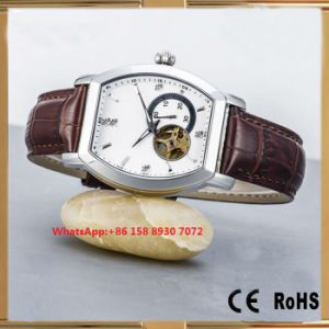 Excellent Smart Automatic Men′s Watches with Genuine Leather Strap Fs651 pictures & photos