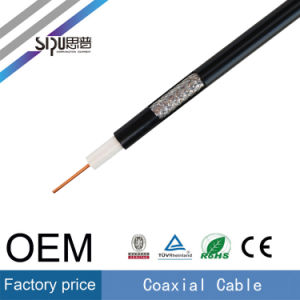 Sipu Wholesale 75ohm CATV CCTV TV RG6 Rg59 Coaxial Cable pictures & photos