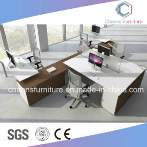Modern Furniture 4 Person Computer Table Office Workstation pictures & photos