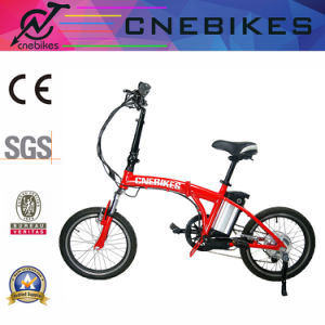 "20"" Electric Folding Bike with 250W Motor, 10ah Battery pictures & photos"