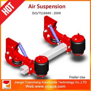 German Type Air Suspension Bag Lifting Trailer Suspension
