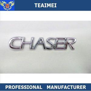 High Quality 3D Plastic Adhesive Chrome Letters Emblem Sticker pictures & photos