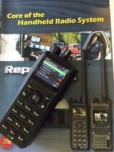 Military Low VHF Handheld Radio with Single Chanel Repeater Function, Portable Repeater Radio