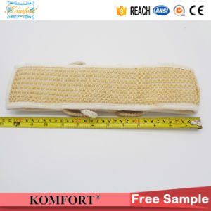 Natural Sisal Exfoliating Scrub SPA Softtextile Glove Back Scrubber Bath Belt Strap pictures & photos
