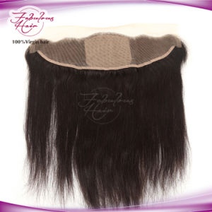 Hair Products 13X4 Straight Brazilian Lace Silk Frontal pictures & photos