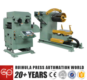 Coil Sheet Automatic Feeder with Straightener for Press Line by Automobile Mould pictures & photos